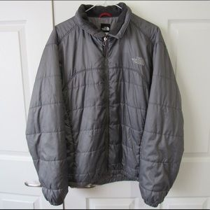 The North Face Silver Down Puffer Jacket